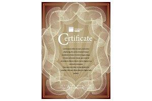 Certificate168