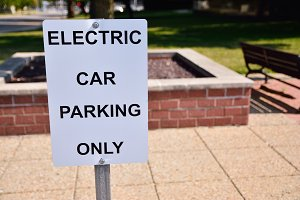 eserved parking electric vehicles