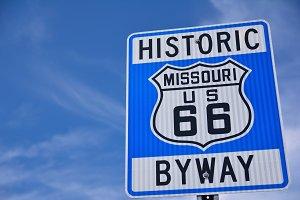 Historic route 66.