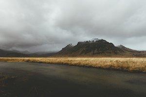 Dark Autumn Weather in Iceland