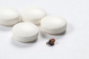 Mite and tablets macro