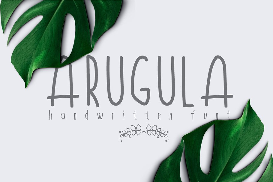 Arugula Font
