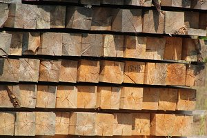Wooden squares blocks - background for design