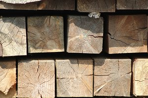 Big wooden squares blocks - background for design