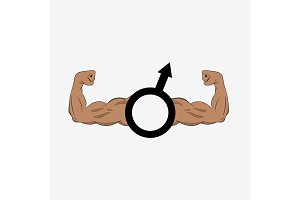 Man gender sign