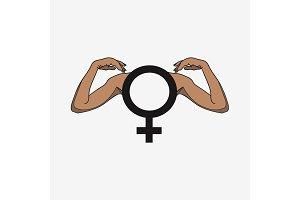 Gender symbol female