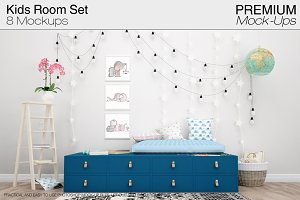 Kids Room Mockup Pack