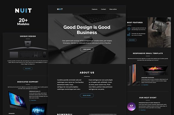 Nuit Email Template Builder