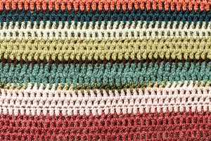knitted colored texture