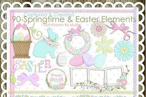 90-Springtime / Easter Clip Art