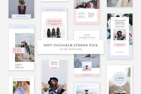 Soft Instagram Stories Pack