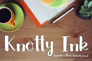 Knotty Ink Font