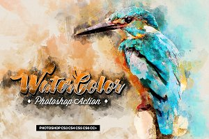 Water Color Photoshop Action v.2