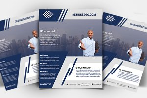 Corporate Business Marketing Flyer