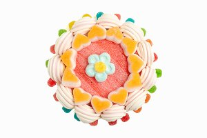 Jelly beans cake