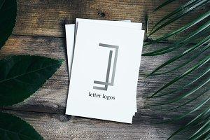 J Letter Logo Pack