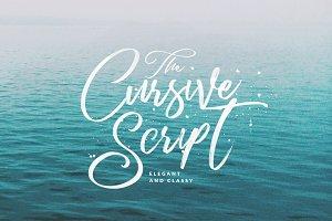 Cursive Script Handmade Brush