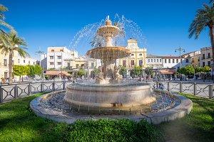 Fuente de la Plaza de Espana, Merida