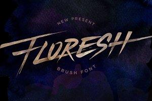 Floresh Typeface