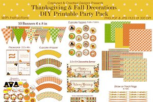 Thanksgiving & Fall PartyDecorations