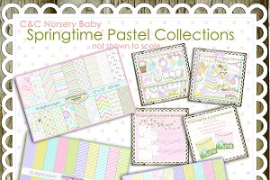 Mega Springtime Pastel Collection