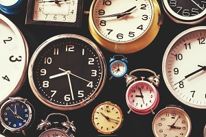 Many kinds of clock
