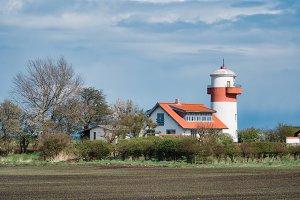 Lighthouse Hou Fyr on Langeland
