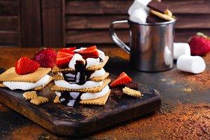 Picnic smores dessert