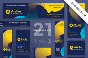 Banners Pack | Atelier
