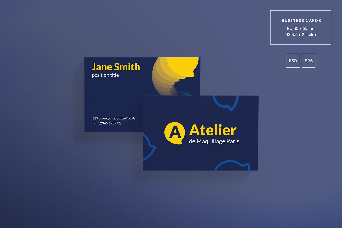 Business Cards | Atelier