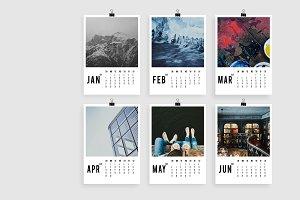Modern Art Photo Calendar 2018 A4