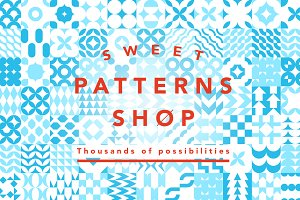 Sweet Patterns Shop +500 tiles