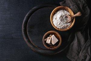 Sourdough for baking bread