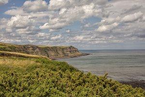Bay on Yorkshire coast
