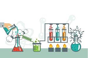 Chemistry Illustration