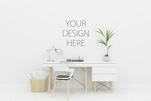 Artwork mockup - interior mock up