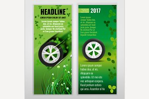 Ecological Tire Banners