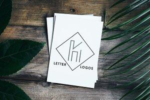 K Single Letter Logos