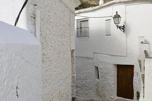 A street in the Alpujarra