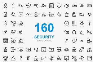 160 Security Hand Drawn vol 1