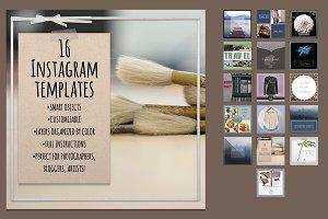 16 Instagram Templates