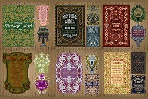 Label Art Nouveau - sets