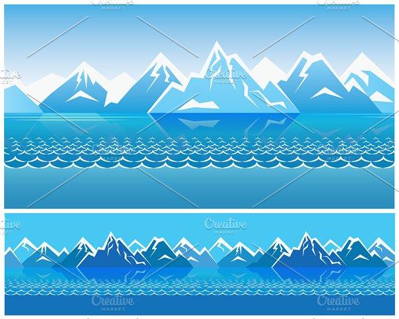 Northern Landscape pack in Illustrations