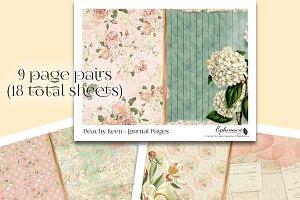 Peachy Keen Printable Journal Kit