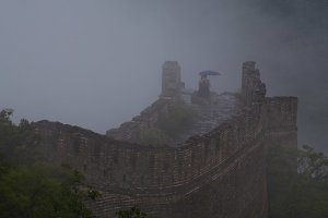 Fog at the Great Wall