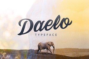 Daelo Script Typeface