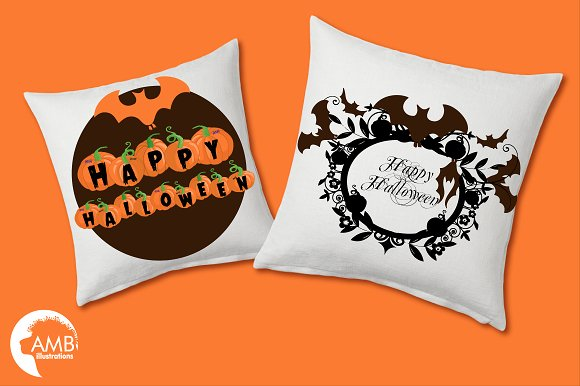 Halloween haunting clipart AMB-996 in Illustrations - product preview 2