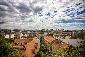 Clouds Above Zagreb City
