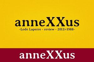 anneXXus font