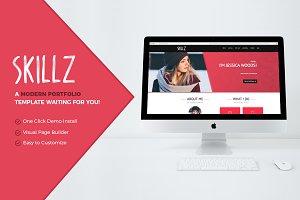 Skillz: Portfolio & Resume Theme